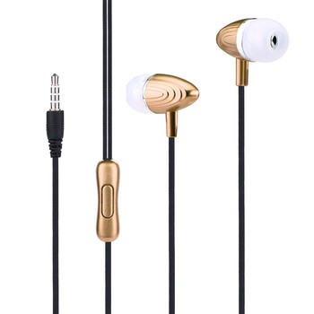 Universal 3.5mm In-Ear Stereo Earbud Earphone Headset with MicFor Cell Phone MP3