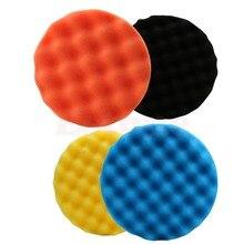 New 4Pcs/set  6 inch (150mm) Buffing Polishing Sponge Pad Kit For Car Polisher Buffer