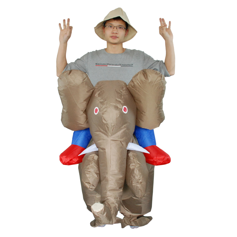 Adults Inflatable Elephant Costumes Animal Themed Halloween Costumes Unusual Mens Mardi Gras Costumes In Movie Tv Costumes From Novelty Special Use On