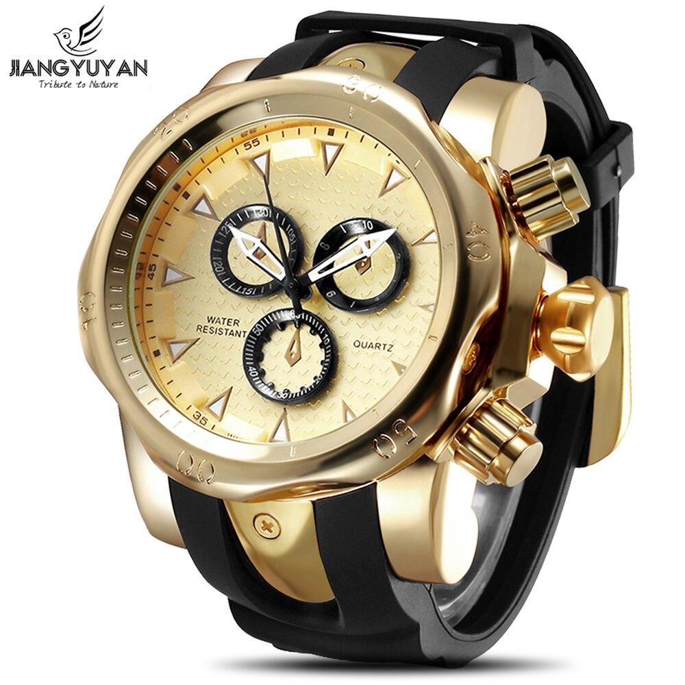 2019 top marque véritable hommes montres sport montre grand cadran montre à quartz spécial pour vous escalade montres montre homme