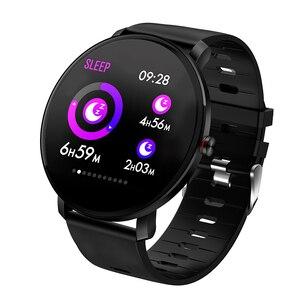 Image 1 - Super Slim Smart Watch Men IP68 Waterproof Sports Smartwatch Men Clock Heart Rate Monitor Fitness Bracelet reloj inteligente K9