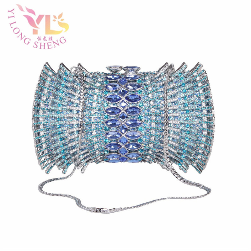 Women Fashion Rhinestone Clutches with Chain for Evening/Party/Dinner/Cocktail Women Shoulder Handbags Crossbody Bags YLS-HOW31 books with style the cocktail party