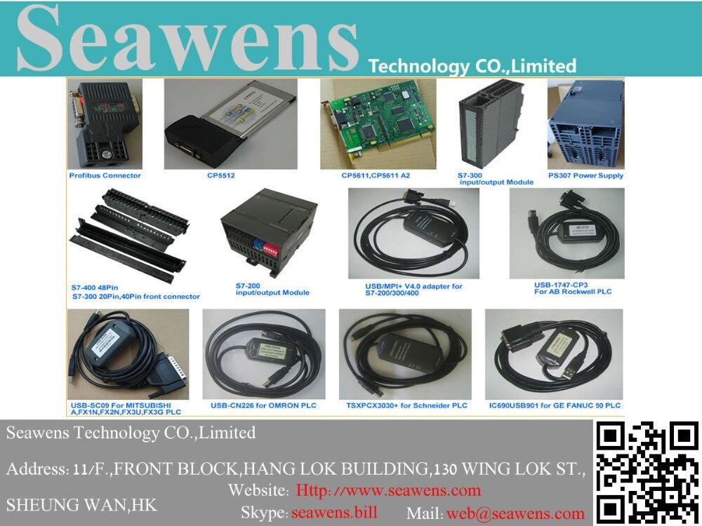 PC/PPI Cable de programación para S7-200 plc, compitable con 6ES7  901-3CB30-0XA0