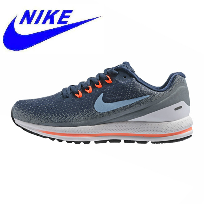 low priced 80c99 fc97b NIKE AIR ZOOM VOMERO 13 Men s Running Shoes, Shock Absorption Breathable  Wear-resistant Lightweight, Dark Blue 922908 400