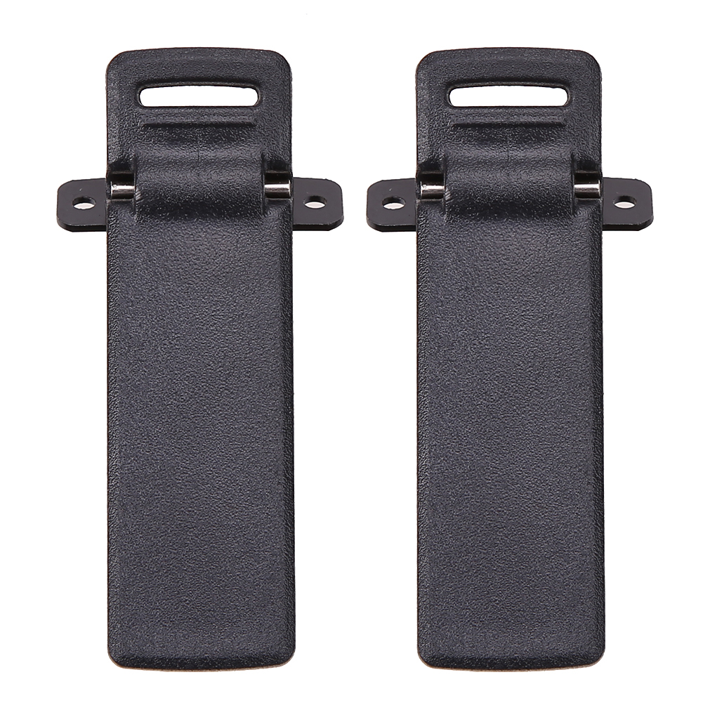 2Pcs Walkie talkie Belt Clip for Baofeng UV-5R UV-5RA UV-5RB UV-5RC UV-5RD UV-5RE 5RE Two Way Radio Accessories walkie talkie 5re 136 174 400 520 fm 65 108 5r usb uv 5re