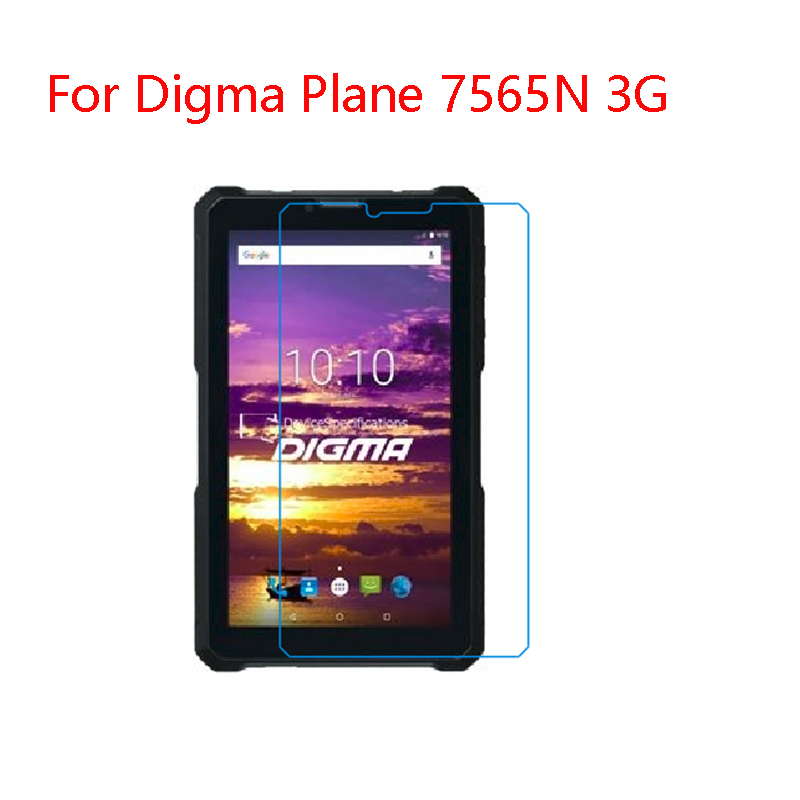 For Digma Plane 7565N 3G  7inch New Functional Type  Anti-fall, Impact Resistance, Nano TPU Flexible Screen Protection Film