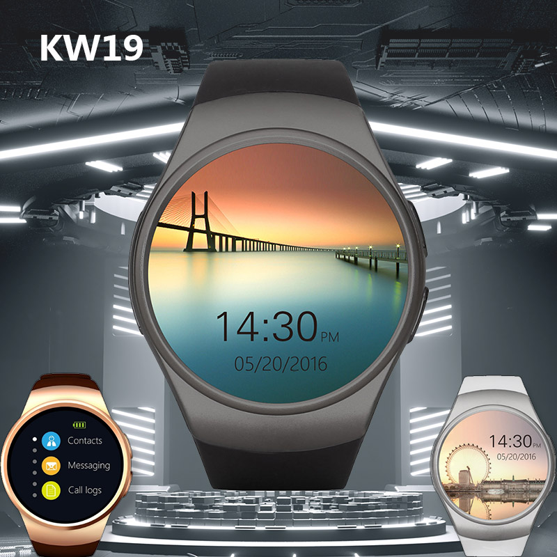 New KW19 Bluetooth Smart Watch Full Screen Support SIM TF Smartwatch Heart Rate for Apple IOS Xiaomi Android VS Q9 gw68 KW10New KW19 Bluetooth Smart Watch Full Screen Support SIM TF Smartwatch Heart Rate for Apple IOS Xiaomi Android VS Q9 gw68 KW10