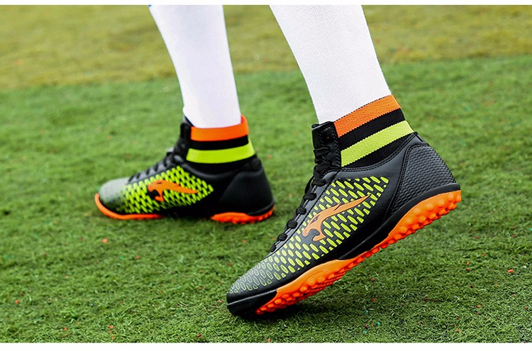 2017 High Ankle Superfly Boys Kids Football Boots Cheap Indoor Soccer Shoes Cleats Girls Sneakers 7High Quality voetbalschoenen