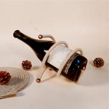 New Classical hemp rope Red Wine Rack Bottle Holder Mount Kitchen Bar Display Shelf High Quality spring fashion simple L50
