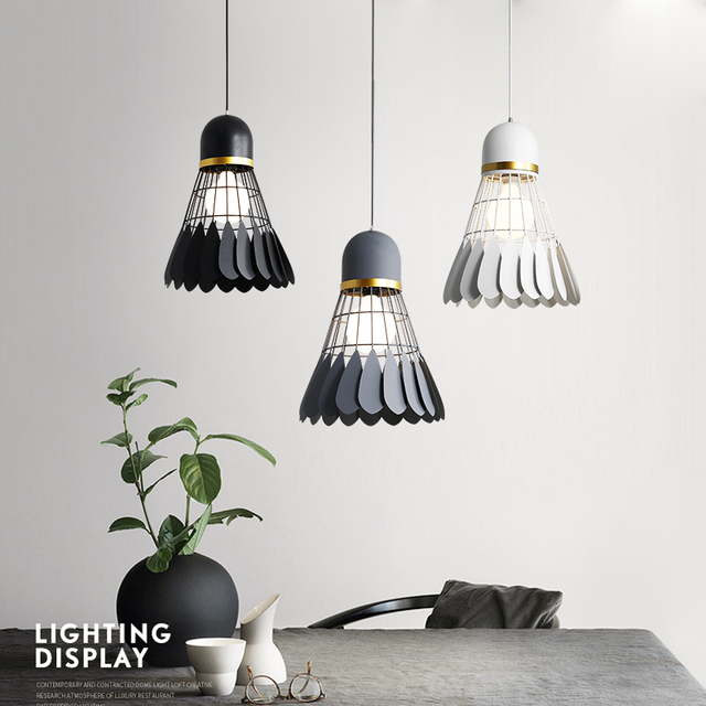 Suspension Luminaire : Volant de Badminton 3