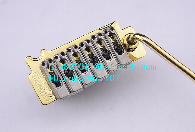 free shipping new wilkinson WVS50IIK electric guitar bridge in gold made in Korea  L14