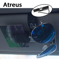 Atreus Auto Sonnenblende Clip Halter Sunglass Gläser Innen Zubehör Für Volkswagen VW Passat B5 B6 Bora Toyota Corolla camry