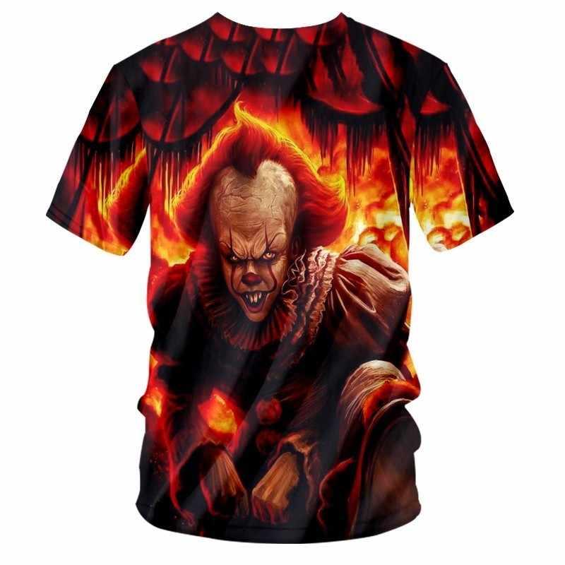 OGKB Лидер продаж мужские с v-образным вырезом Футболка Cool печати пламя Джокер 3D футболки человек хип-хоп быстросохнущая удобные футболки футболка Homme