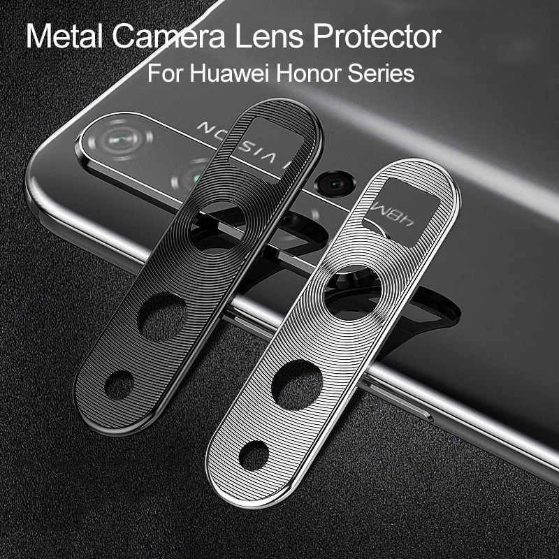 Camera Lens Protective Ring For Huawei Honor 20 Pro 20i Magic 2 Nova 4 4E 3i 3E 3 Metal Phone Camera Lens Bumper Cover Case