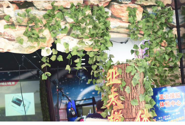 10 Style 1pc Artificial Decoration Vivid Vine Rattan Leaf Vagina Grass Plants Grape Leaves For Home Garden Party Decor B1015 Best Sale A552 Cicig