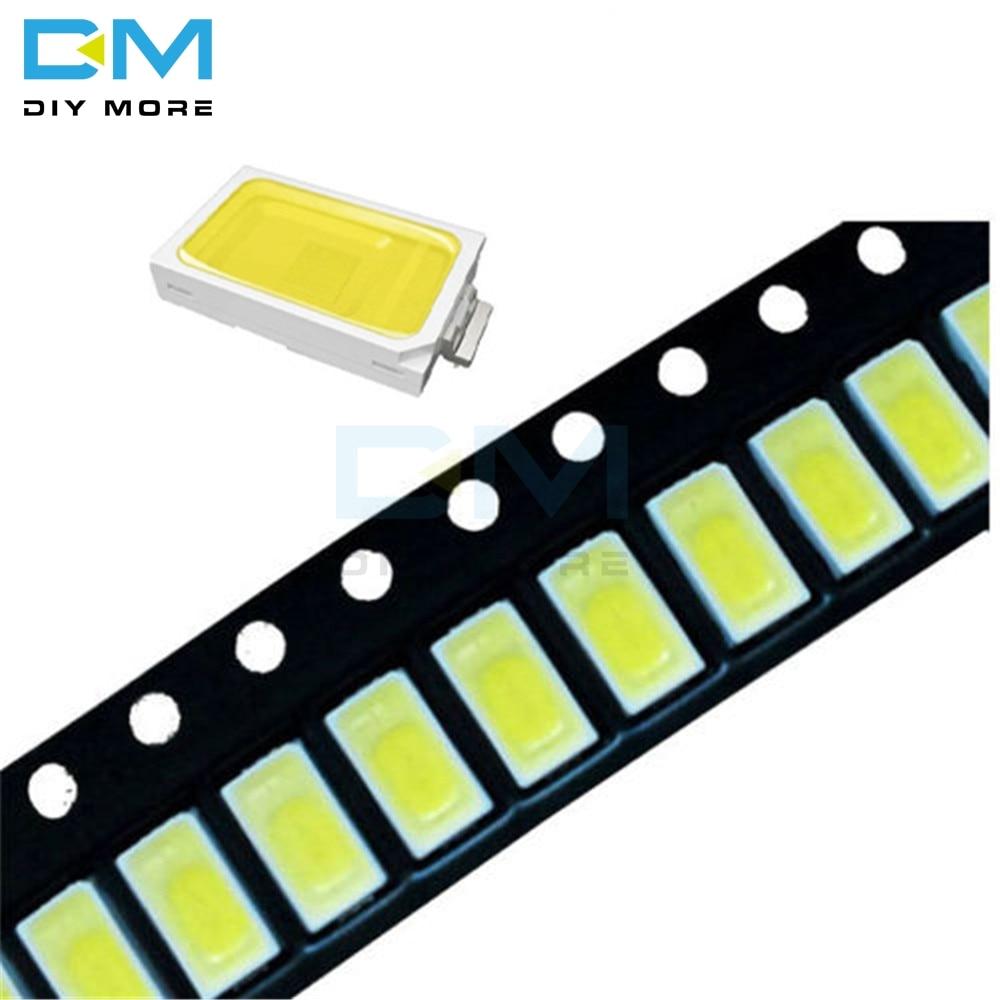 100pcs White Light  5730 5630 CW WW 0.5W-150Ma 50-55lm 6500K SMD 5730 5630 LED 5730 Diodes 3.2V~3.4V