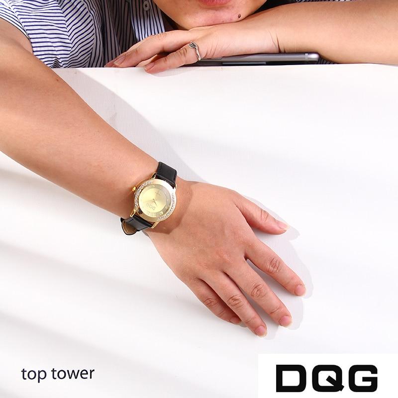 Dropshipping Lüks Marka Moda Casual Altın Saatler Kadınlar Kristal - Kadın Saatler - Fotoğraf 4
