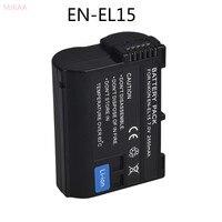 MJKAA 1 шт. 7,0 в 2550 мАч декодированный аккумулятор камеры ENEL15 EN-EL15 для Nikon V1 D500 D750 D7100 D7000 D800E D800 D600 D600E D61