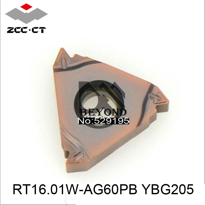 RT16 01W AG60PB YBG205 Zcc Cutting Blade milling Insert Zhuzhou Diamond Original Products The Price Ratio