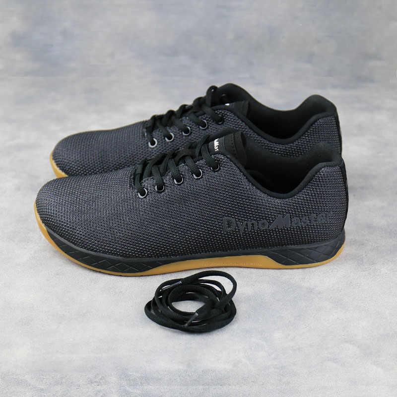 Dynomaster fitness buty cross buty treningowe podnoszenie ciężarów wytrzymałość sneaker wygodne męskie buty trenera