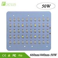 High Power 50W Grow Light 440nm 660nm 6500K 30mil LED Chip DIY Plant Grow System For