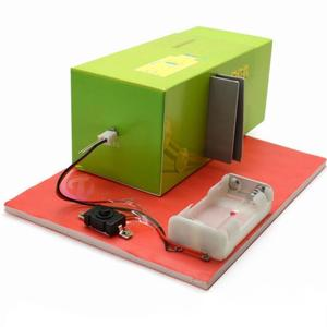 DIY Slide Projector Model Lamp