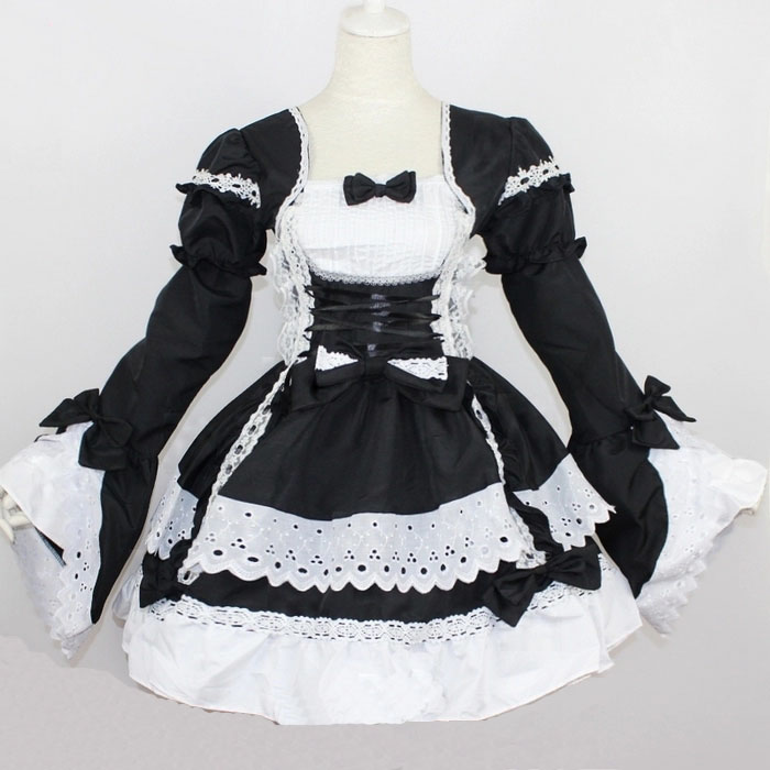 Adults Anime Fantasias Love Live Cosplay Customes Sissy Maid Lolita Dress F Women Discount Deguisement Adultes Halloween Custome
