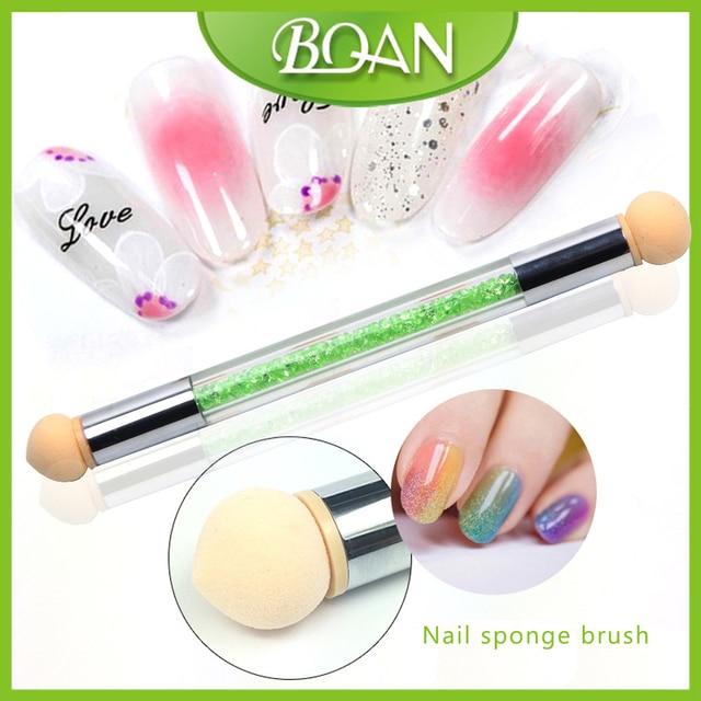 BQAN 10Pcs UV Gel Painting Nail Gradient Shading Pen Nail Art Sponge ...