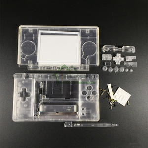 Image 5 - Coque de protection blanche/noire transparente pour Nintendo DS Lite pour Console de jeu NDSL