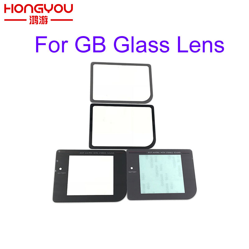 50pcs glass lens Narrow Protector Lens Screen For Nintendo GameBoy Zero DMG-01 For Raspberry Pi Modify Glass Lens