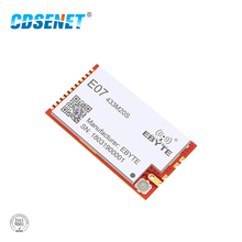 CC1101 433MHz 100mW rf Module 20dBm CDSENET E07-433M20S Long Distance SMD PA Transceiver 433 MHz IPEX Transmitter and Receiver cc1101 433mhz 100mw rf module 20dbm cdsenet e07 433m20s long distance smd pa transceiver 433 mhz ipex transmitter and receiver