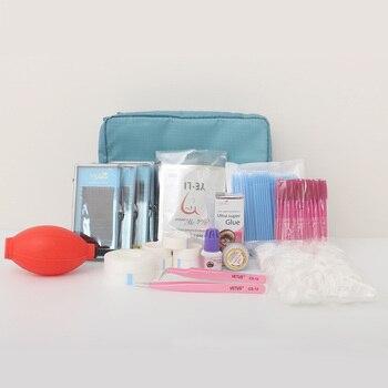 12 Kinds Set Individual False Eyelash extension Tools Set Professional Makeup Tool Kits Eye Lashes Grafting Tools Kit