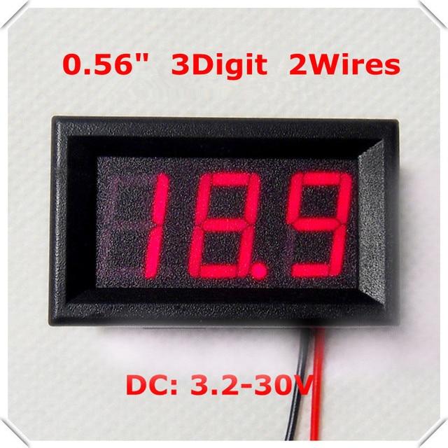 RD Pieces Lot Digital Voltmeter DC V Car - Car sign with namesonline get cheap d led sign aliexpresscom alibaba group