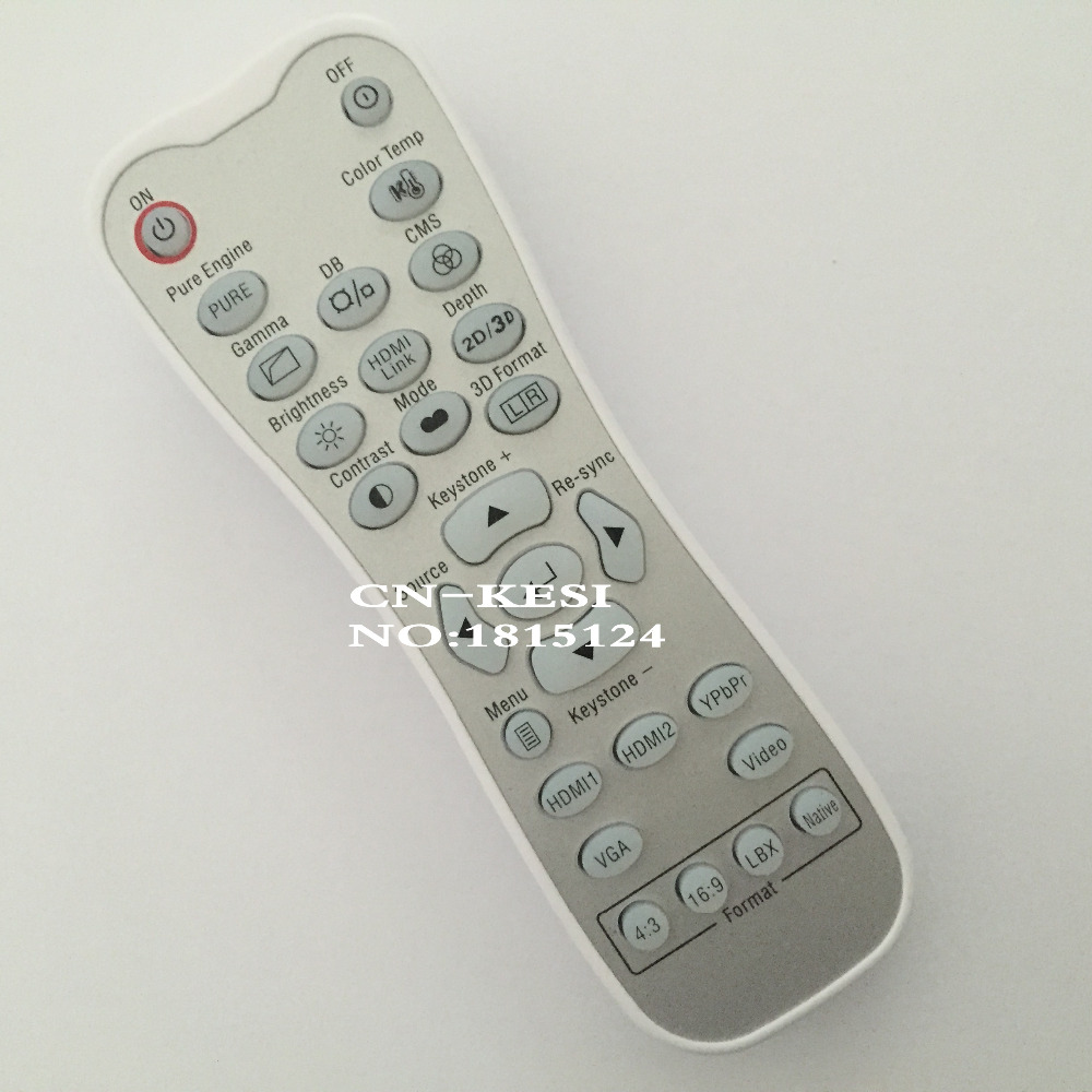 CN-KESI FIT Original Remote Control 5041846800 For Optoma EH415e W415e HD50 Projector(Look the same, can be used directly) new projector remote control for optoma hd33 br 3060b hd25 hd25 lv br 3037b