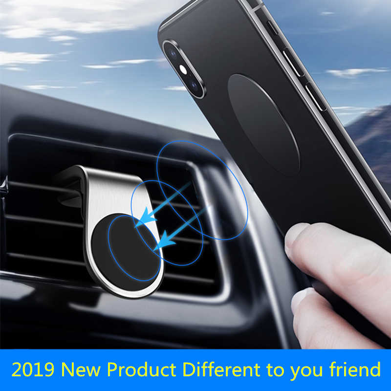Magnetic Car Phone Holder Stand Air Vent Mount for IPhone X Huawei Magnet Holder for Phone In Car GPS Bracket Cellphone Support