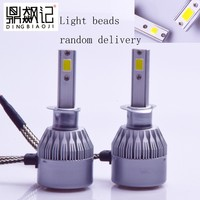 1Pair FREE SHIPPING CHEAPEST C6 H1 72W 7600LM AUTO BULB KIT LIGHTS LED LAMP WHITE