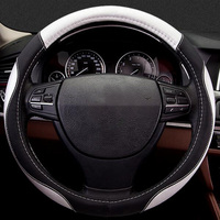 Car Steering Wheels Cover Leather Accessories For Volvo XC90 S60 V60 S70 V70 C70 S80 S90