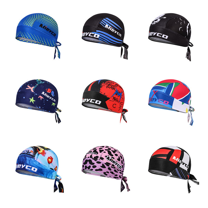 Quick Dry Headband Cycling Cap Bandana Men Outdoor Sports MTB Bike Helmet Cap Pro Riding Hat Headscarf Man Gorra Ciclismo