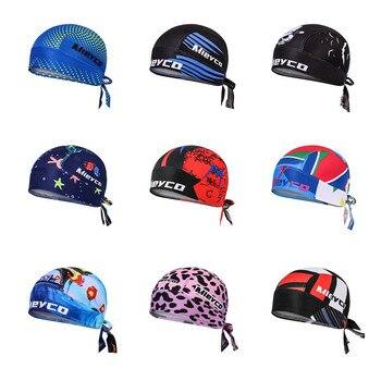 Quick Dry Headband Cycling Cap Bandana Men Outdoor Sports MTB Bike Helmet Cap Pro Riding Hat Headscarf Man Gorra Ciclismo