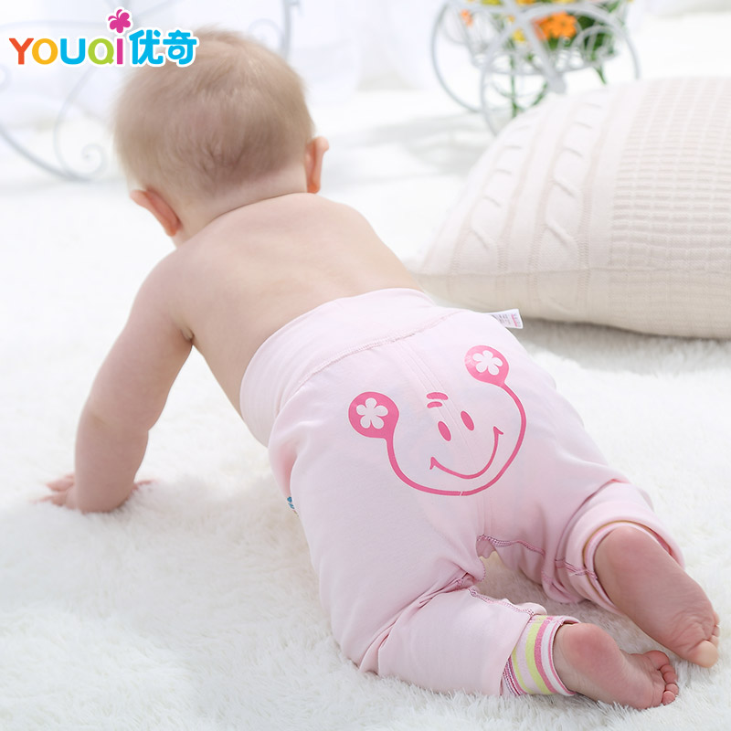 YOUQI 2017 Cotton Baby Pants Baby Boy Trousers Cartoon Bear Newborn Baby Girl Leggings 3 Months Brand Toddler Infant Leggings