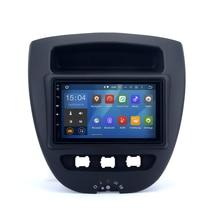 2 DIN Radio de Coche para Toyota Aygo 2005 Android Estéreo navi navi Headunit radio de coche 7 pulgadas de pantalla cable ISO envío mapa