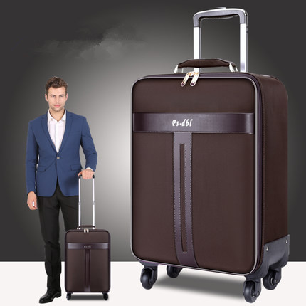 Business Oxford Box Luggage Box Trolley box male universal wheel Travel Female 16/17/18 inch Boarding Box CD50