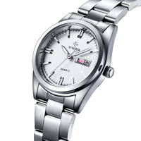 Casual Women Stainless Steel Watches Brand WWOOR Relogio Date Clock Female Ladies Dress WristWatch Original Japan