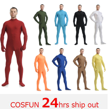 Zentai suit Spandex Clothes Skin Suit Catsuit Halloween Costumes Adult Bodysuit Unisex unitard Stage unitard can be customized