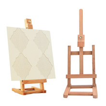 15.7x43.5cm hot sale Wood Artist Easel Wedding Number Place Name Card Stand Display Holder Frame Cute Desk Decor DIY Supplies(China)