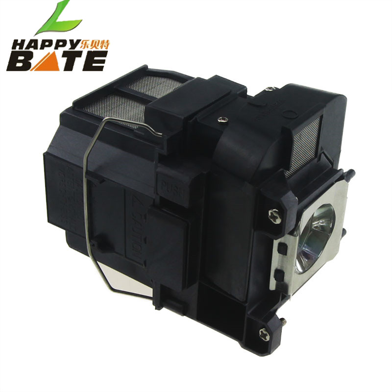 Projector Bulb ELPLP75 V13H010L75 lamp for EB-1940W EB-1945W EB-1950 EB-1955 EB-1960 EB-1965 Projector with housing happybate