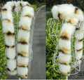 2015 autumn and winter women's Luxury double side fur scarf faux fox fur scarf thermal thicken warm long raccoon fur scarf