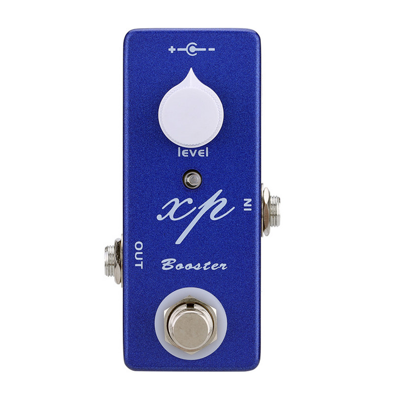 MOSKY Great Boost Pedal XP Booster Mini Clean Booster Pedal Guitar Effect Pedal And True Bypass new guitar fuzz true bypass high quality guitar effect pedal pcb and 3pdt 9 pin foot switch and more free shipping