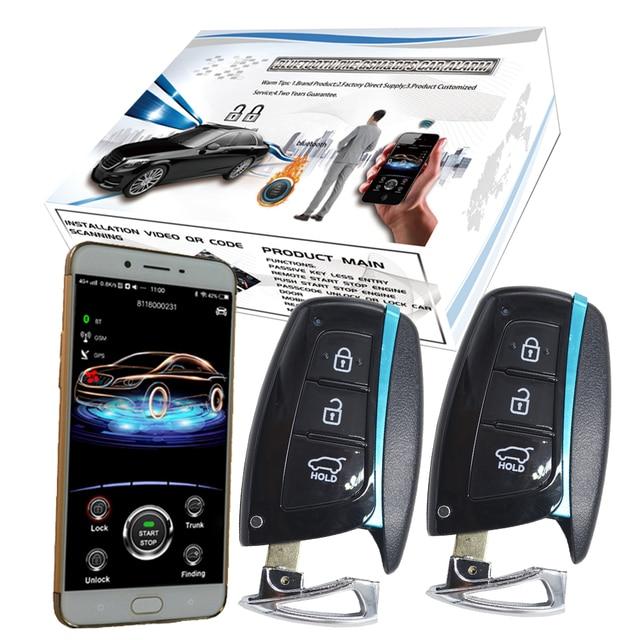 Cardot 2G Beveiliging Auto Alarm Start Stop Motor Pke Passieve Keyless Entry