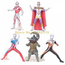 5pcs/set ultraman monster super man vs monster the 5th pvc action figure collection model toy 10~12cm Toy